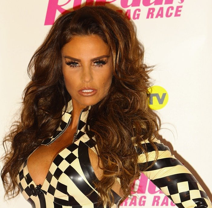 Katie Price underwent breast surgery to reduce the size of her breasts