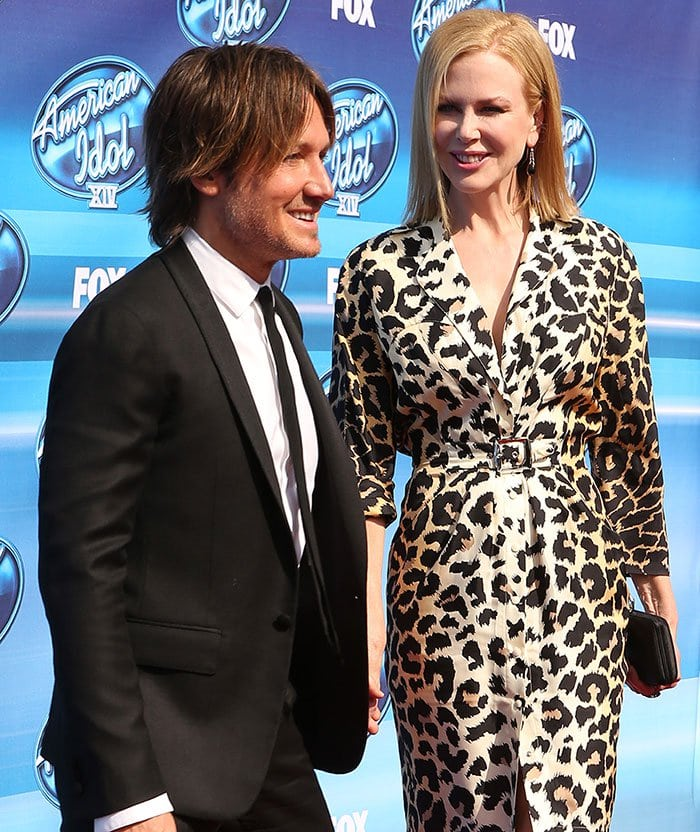 Nicole Kidman stole the spotlight from her husband, Keith Urban
