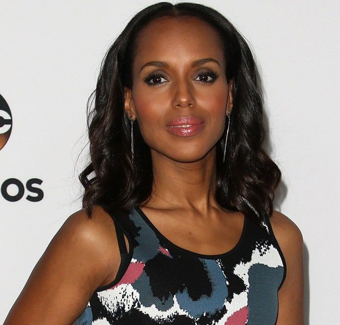 """Kerry Washington at the """"Scandal"""" ATAS panel event at the Directors Guild of America in Los Angeles on May 1, 2015"""