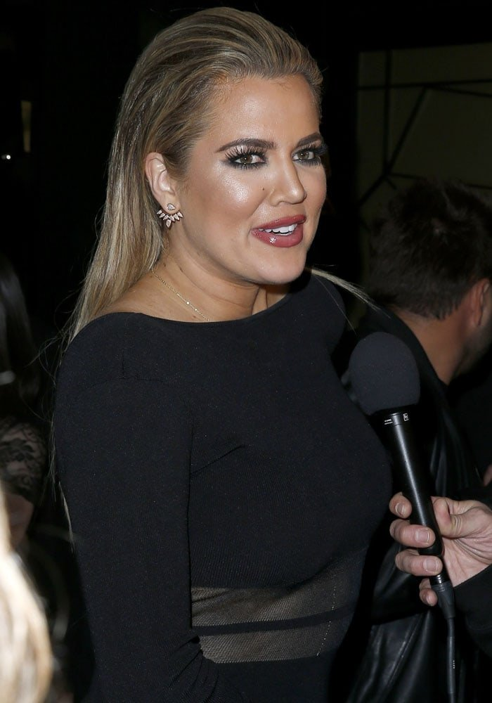 Khloé Kardashian at the Mirage Hotel and Casino in Las Vegas during the Memorial Day Weekend on May 22, 2015