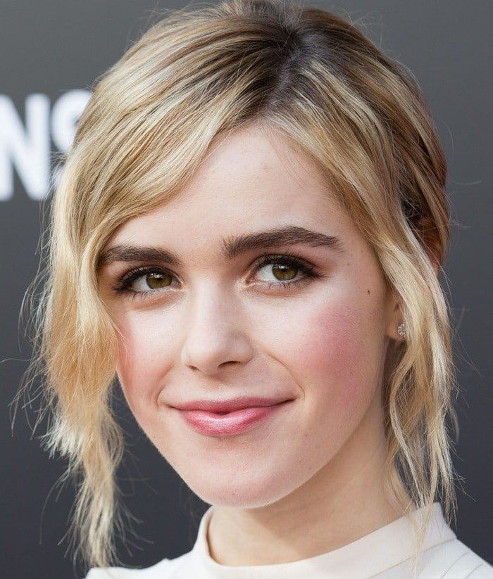 """Kiernan Shipka attends the Film Independent at LACMA for a special screening of the final episode of """"Mad Men"""""""