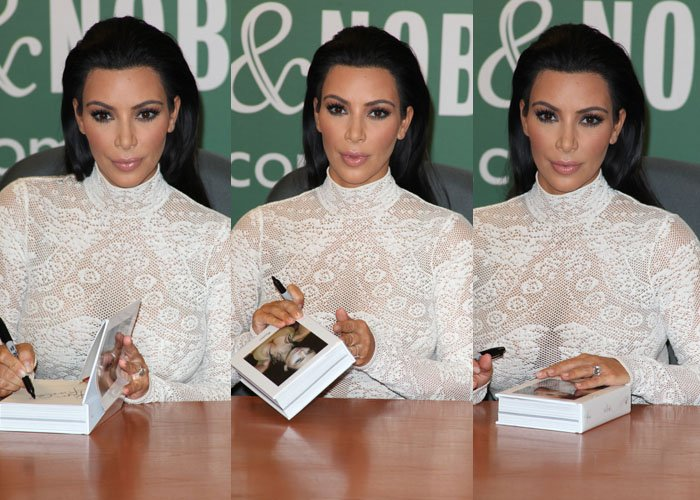 Kim Kardashian Gets Confronted By Animal Activists At Book