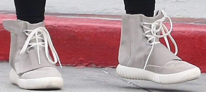 Kim Kardashian's Yeezy Boost sneakers are designed by her husband