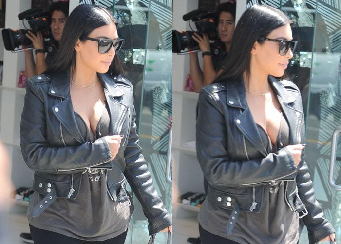 Kim Kardashian Tom Ford North 10