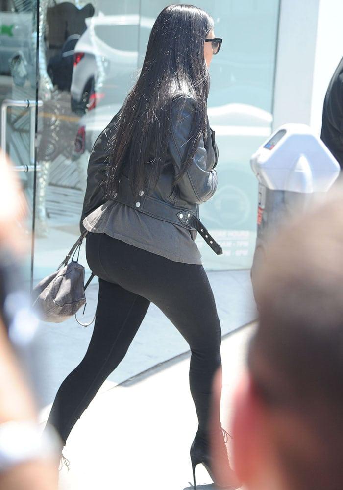 Kim Kardashian Tom Ford North 11
