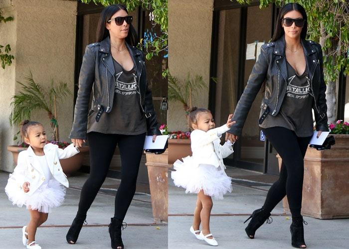 Kim Kardashian Tom Ford North 2