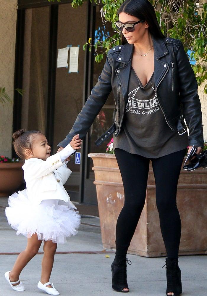 Kim Kardashian Tom Ford North 3