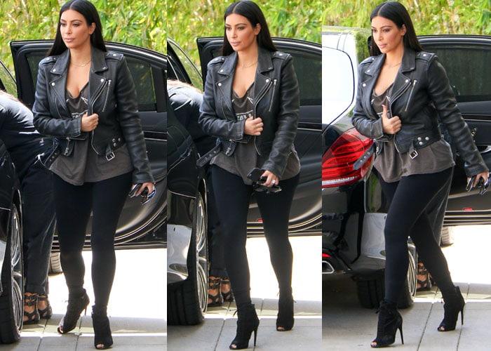 Kim Kardashian Tom Ford North 4