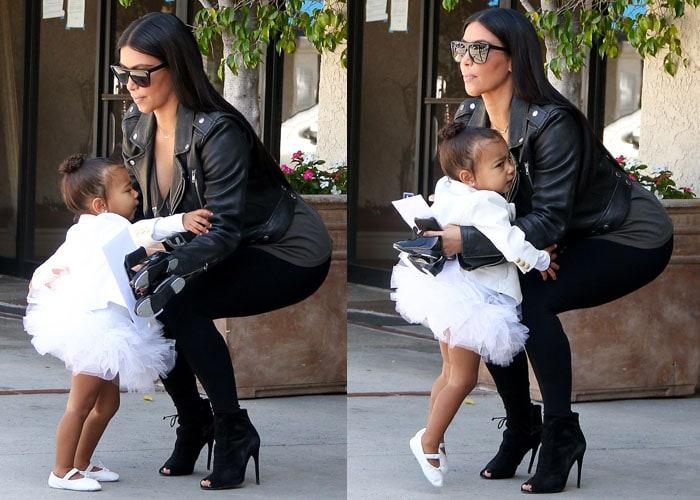 Kim Kardashian Tom Ford North 5