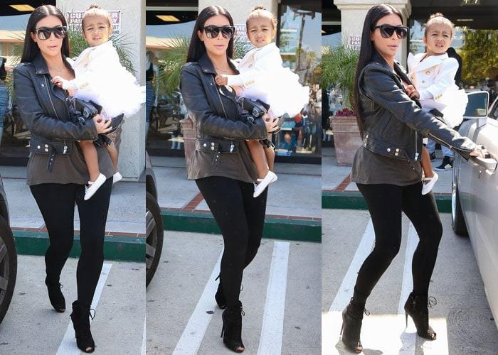Kim Kardashian Tom Ford North 7