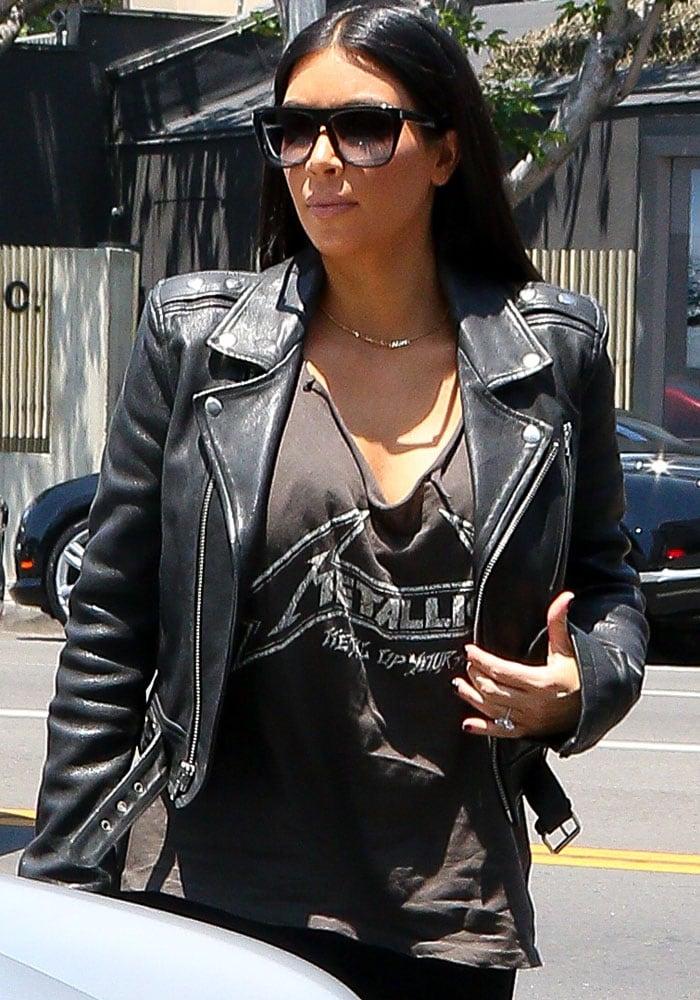 Kim Kardashian Tom Ford North 8