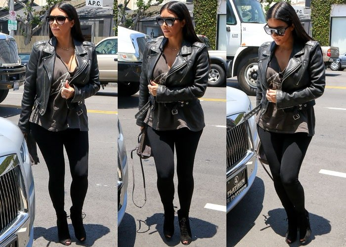 Kim Kardashian Tom Ford North 9