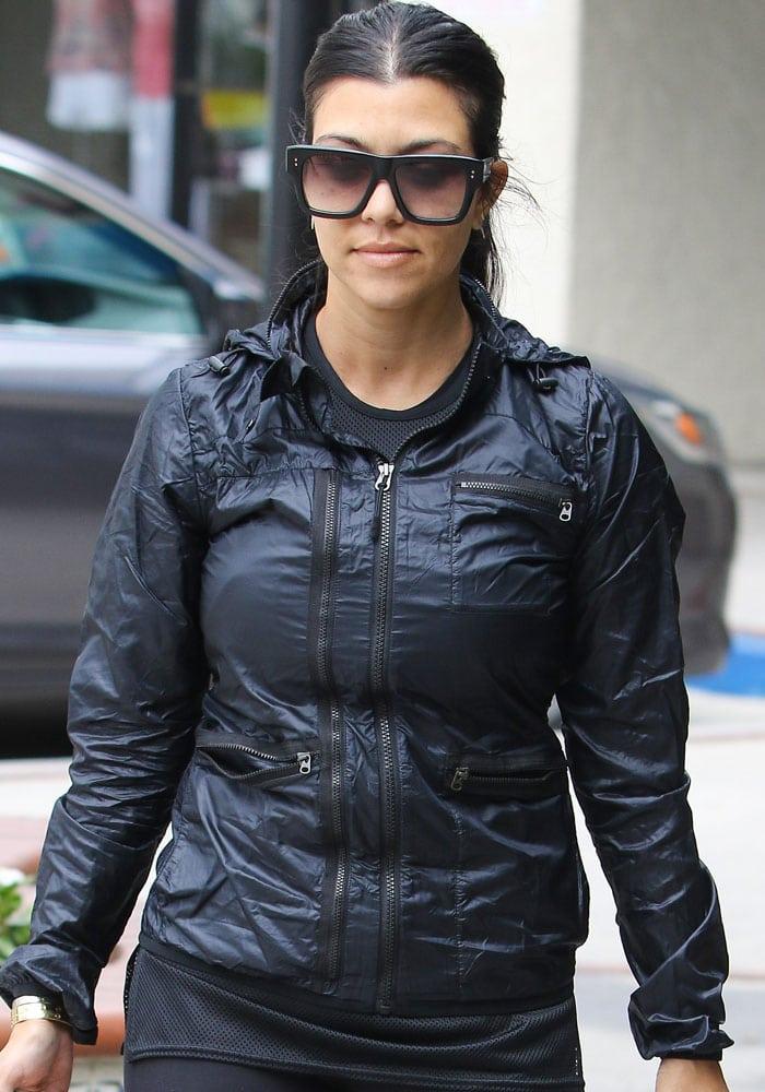 Kourtney Kardashian has not commented on Scott Disick's recent cheating rumors