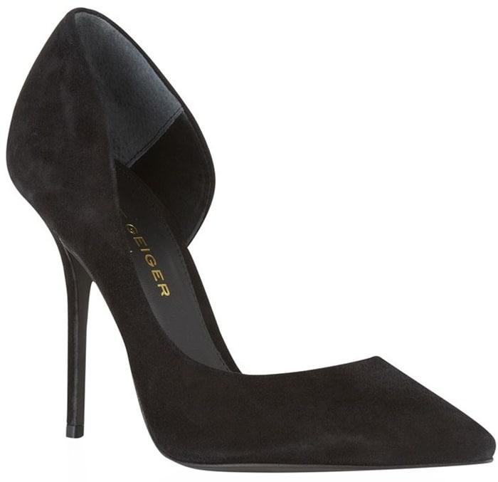 Kurt Geiger Black Anja Court Shoe