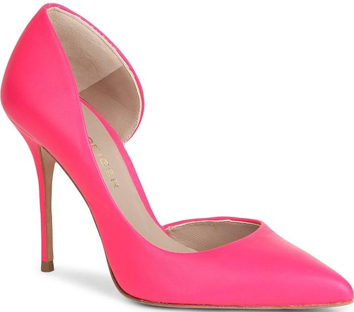 Kurt Geiger Pink Anja Court Shoes