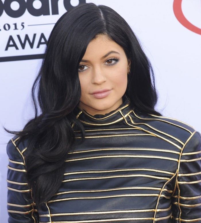 Kylie Jenner on the carpet at the 2015 Billboard Music Awards