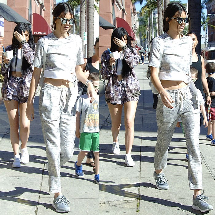 Kylie And Kendall Jenner Sneakers