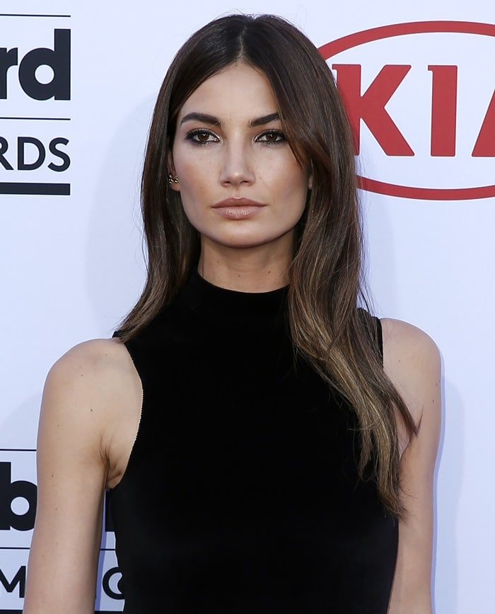 Lily Aldridge at the 2015 Billboard Music Awards