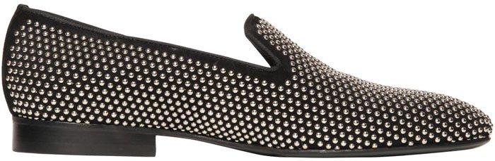 Louis Leeman Studded Loafers