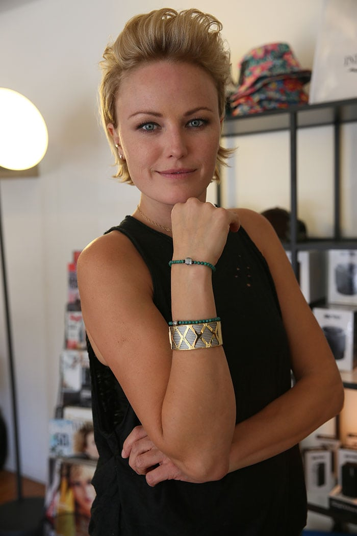 Malin Akerman plays the wife of billionaire hedge fund manager Bobby Axelrod