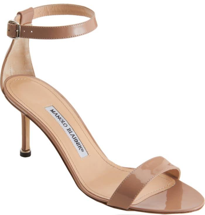 Manolo Blahnik 'Chaos' Ankle-Strap Sandals