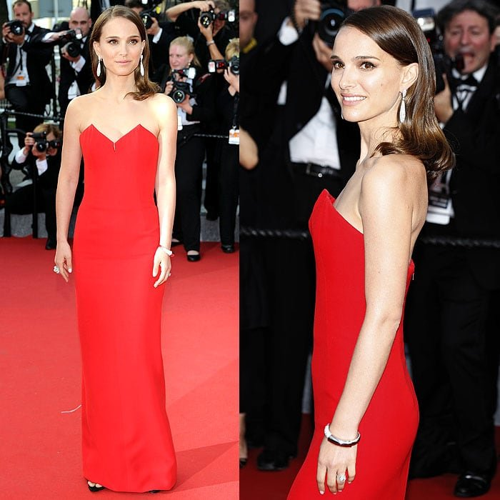 "Natalie Portman at the opening ceremony and premiere of ""La Tete Haute"" (""Standing Tall"")"