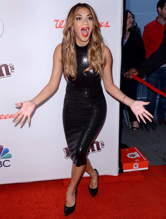 Nicole Scherzinger celebrates America's first Red Nose Day