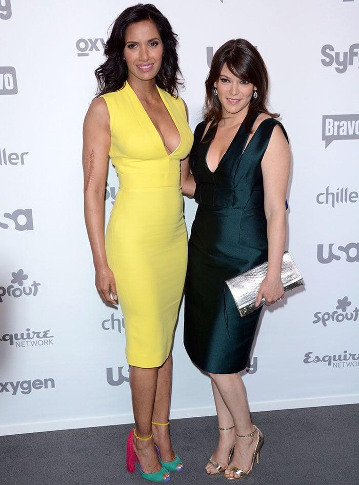Padma-Lakshmi-Gail-Simmons-2015-NBC-Universal-Cable-Entertainment-Upfront