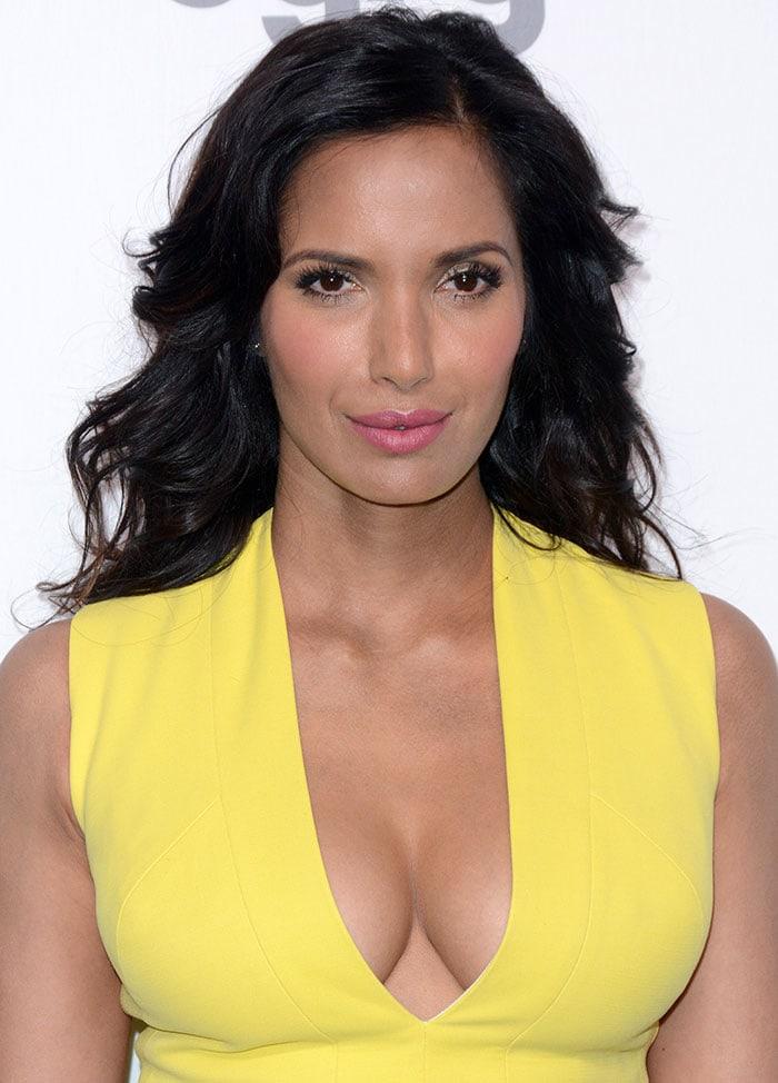 Padma-Lakshmi-in-yellow-dress-2015-NBC-Universal-Upfront