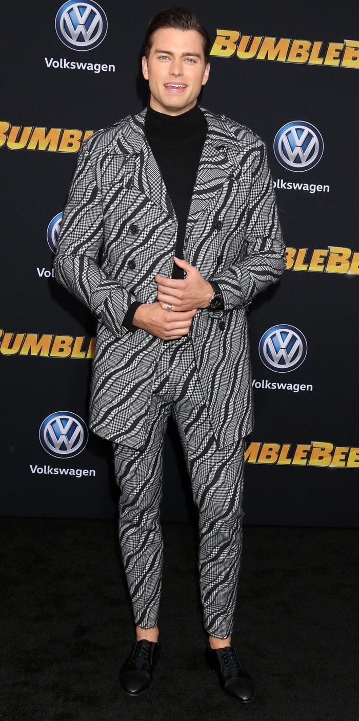Pierson Dane Fodé at the premiere of Bumblebee