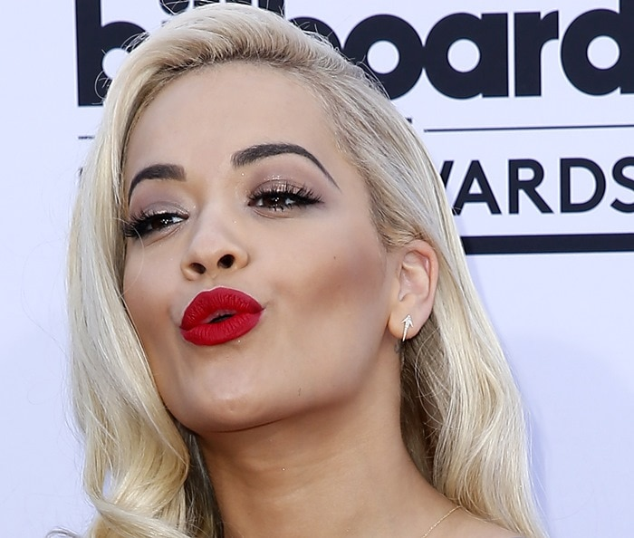 Rita Ora at the 2015 Billboard Music Awards held at the MGM Grand Garden Arena in Las Vegas on May 17, 2015
