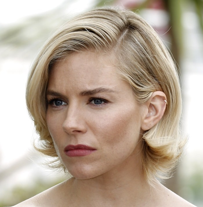 Sienna Miller was crazy hot at the press conference in Cannes