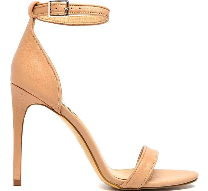 "Siren ""Ivette"" Ankle-Strap Sandals in Tan"