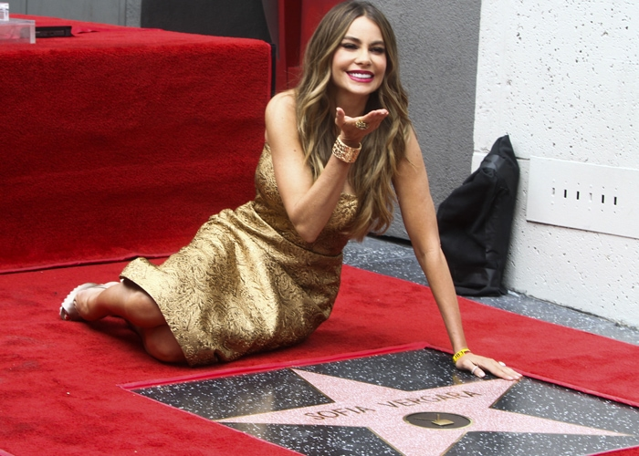 Sofia Vergara was honored for her work as Gloria Delgado-Pritchett on Modern Family