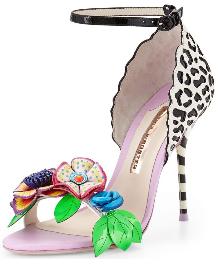 Sophia Webster Lilico Floral Jungle Sandal