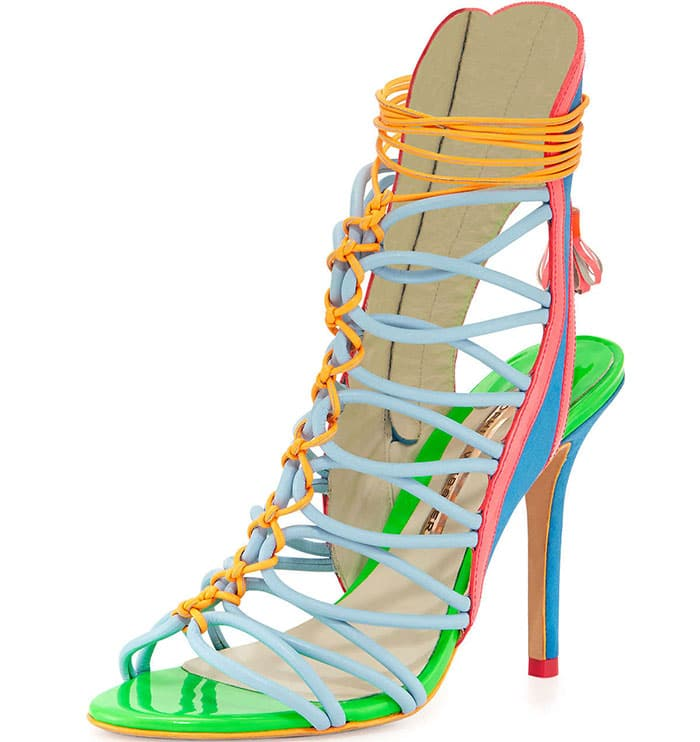 """Sophia Webster Multicolored """"Lacey"""" Strappy Sandals"""