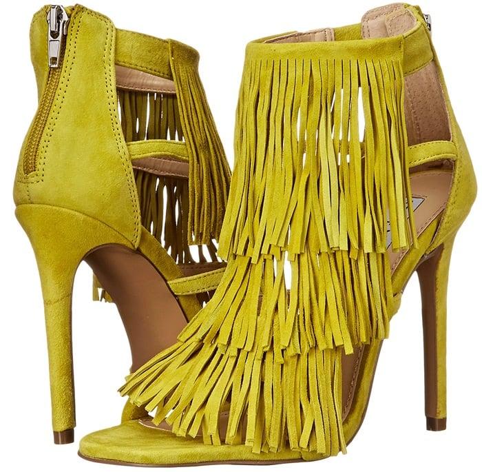 Steve Madden Fringly Yellow