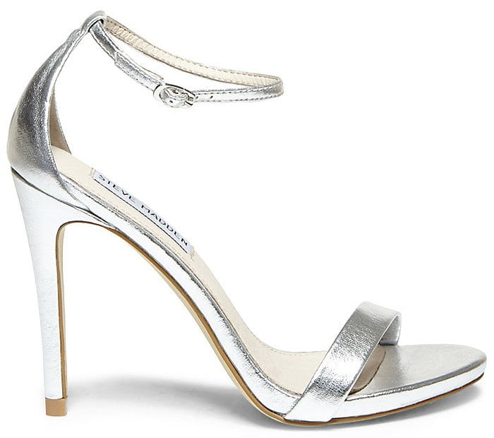"Steve Madden ""Stecy"" Sandals in Silver"