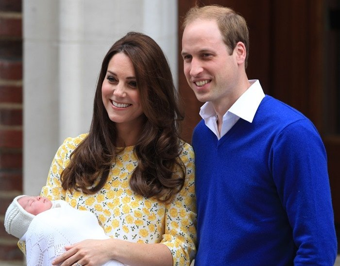 Charlotte Elizabeth Diana was born at 08:34 BST on 2 May 2015 in Lindo Wing of St Mary's Hospital, London