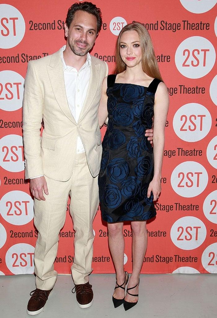 Amanda Seyfried stars with Thomas Sadoski of The Newsroom