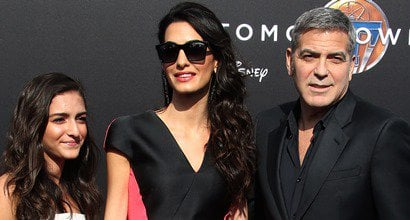 Amal nackt Clooney Provence Officially
