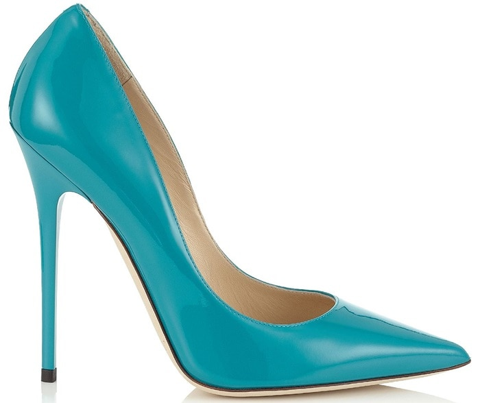 Turquoise Jimmy Choo Anouk Pumps