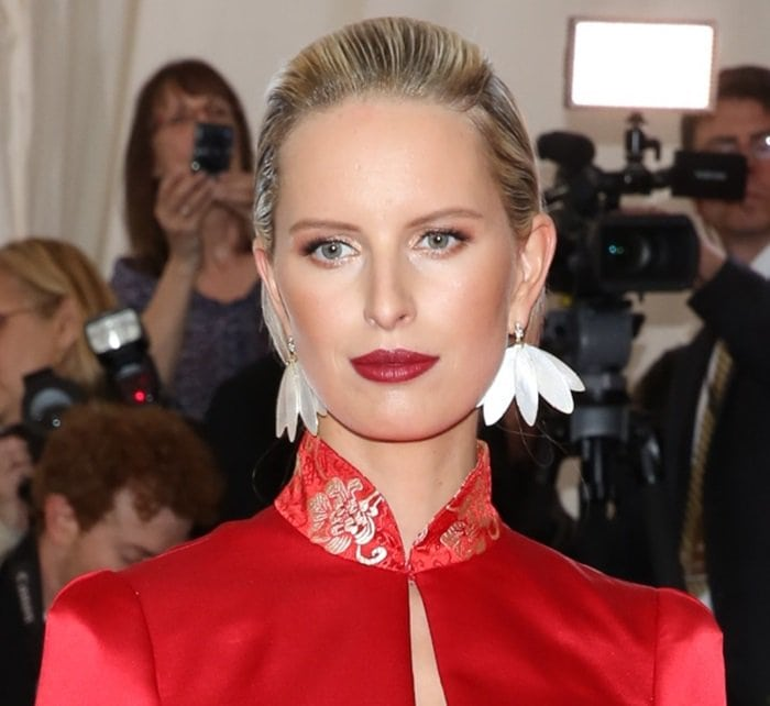 'China: Through the Looking Glass', the 2015 Costume Institute Gala, at Metropolitan Museum of Art on May 4, 2015 in New York City. Featuring: Karolina Kurkova Where: New York, New York, United States When: 05 May 2015 Credit: Andres Otero/WENN.com