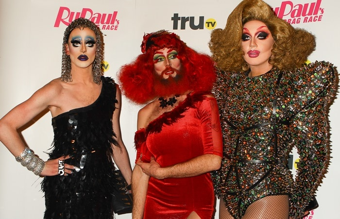 Launch of the UK edition of the popular American talent show RuPaul's Drag Race