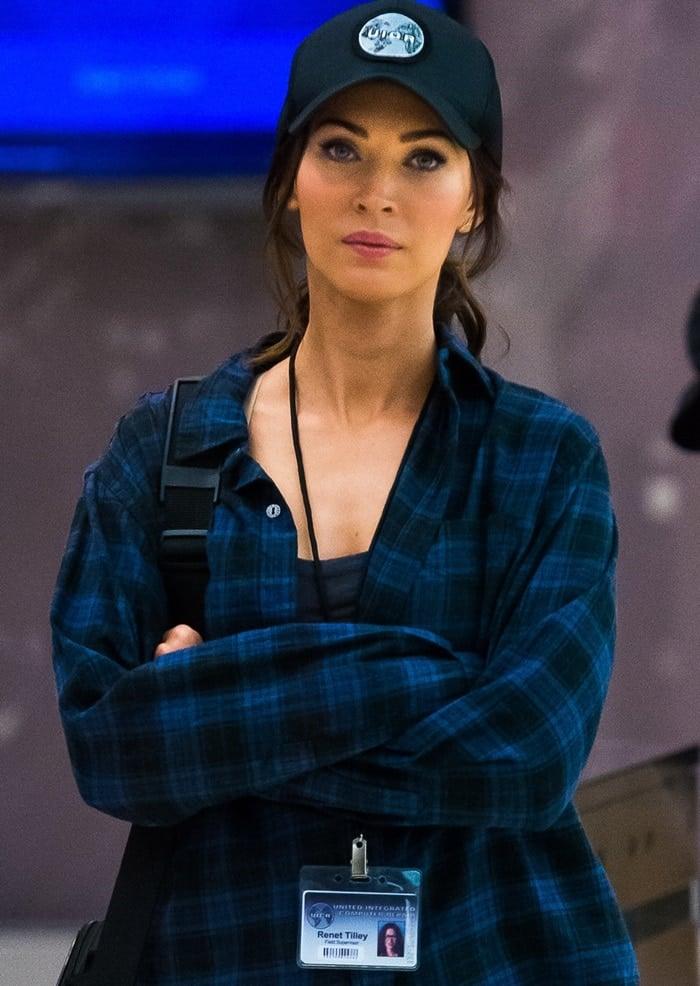 Teenage Mutant Ninja Turtles 2 Films in Tribeca Featuring: Megan Fox Where: New York, New York, United States When: 29 May 2015 Credit: C.Smith/ WENN.com