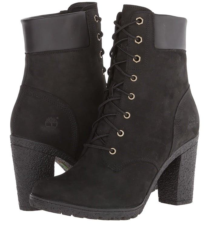 timberland glancy boots black