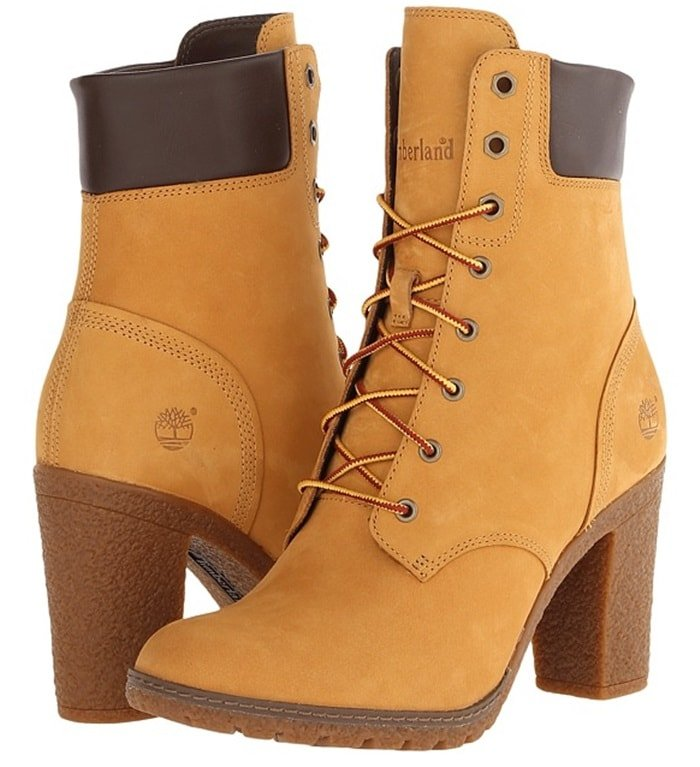 """Timberland Earthkeepers """"Glancy"""" Boots in Wheat"""