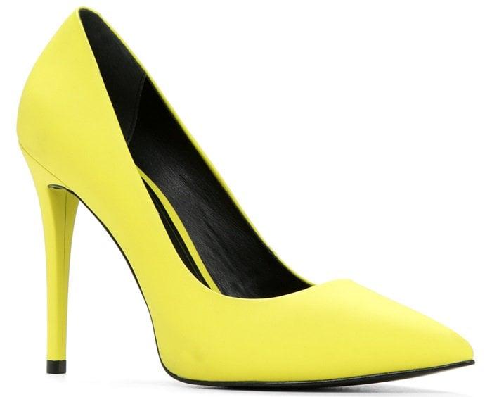 Aldo Forquer Pumps in yellow