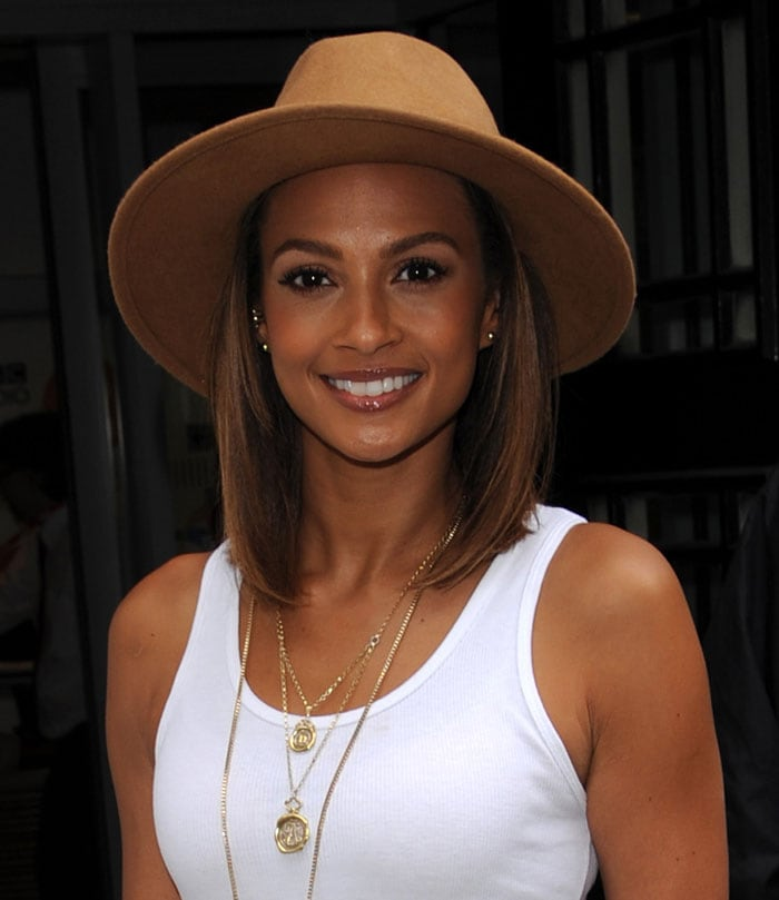 Alesha-Dixon-promotes-The-Way-We-Are-BBC-Radio-2