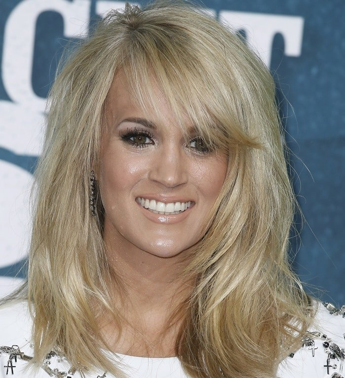 Carrie Underwood at the 2015 CMT Music Awards held at the Bridgestone Arena in Nashville on June 10, 2015